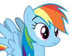 No expresions-Rainbow Dash vector 3 by CommyPink