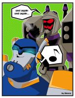The spoon killer decepticon by draculinaxy