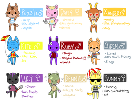 animal crossing adopts CLOSED by puppunk
