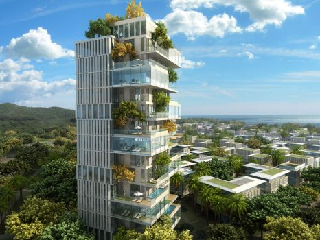 Eco Appartment Complex by externible