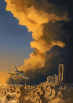 Lost City of the Pegasi by Plainoasis