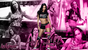 AJ Lee custom wallpaper by heiligpunk