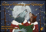 Howling good Holiday! by Kazulgfox