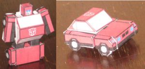 Cliffjumper Paperformer by paperart