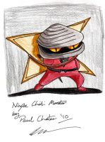 Ninja Chibi Monster by pjchater