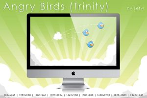 Angry Birds -Trinity- by Letyi