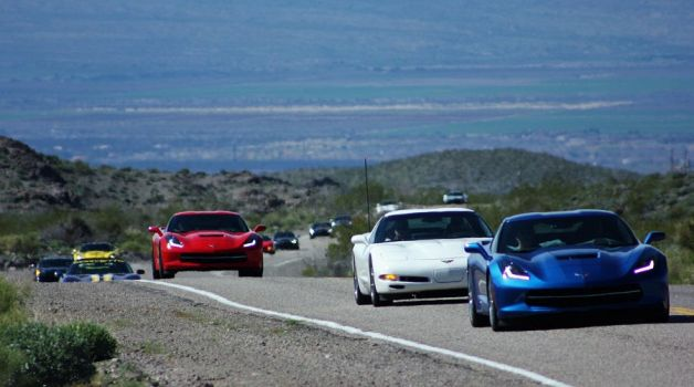 Corvettes on Rt. 66 by finhead4ever