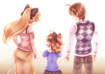 Happy family by TheScarletDevil