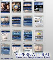 Supenatural SE W380 theme by AnastasieLys