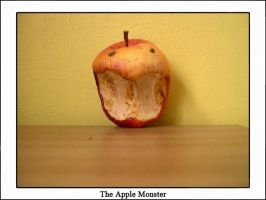 The Apple Monster by joga-maciejsdottir
