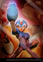 Mega-Man Tribute: Preview by DarkKenjie
