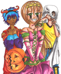 Halloween Coloring Contest by Daft--Art
