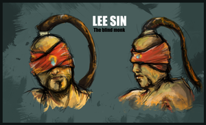 Lee sin by Yourbee