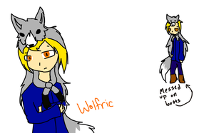 Wolfric by SparkyChan23