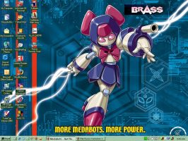 my medabots wallpaper by Rose37