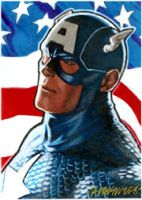 Captain America PSC by ryanorosco