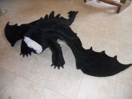 Toothless Body stuffed and Winged 2 by Super3dcow