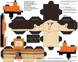SW13: Wedge Antilles Cubee by TheFlyingDachshund