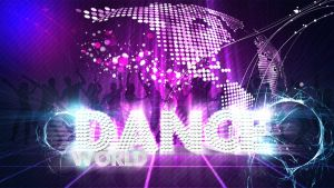 Wallpaper dance by biebercyrus