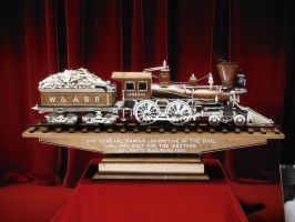 Master Carving of The General by SteamRailwayCompany