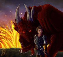 Fires Of Alkon - Commission by TriinuArjus