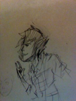Marshall Lee sketch by Gizmuffins