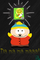 Cartman Obtained the Cheesy Poofs by INeedCoffeee