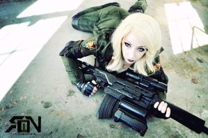 Sniper Wolf - Metal Gear Solid by Its-Raining-Neon
