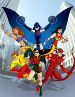 DC2 Teen Titans by herrenmedia
