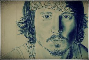 Johnny Depp... ( made by VHZ ) by Hushang
