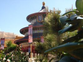 EPCOT China by incredibleplum