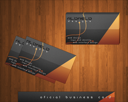 Oficial Business Card Template by Aldaeld