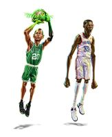 NBA stars 2 by A-BB