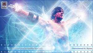 AJ Styles Better than the best by EightRedd