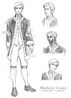 Mathew Crane- character sheet by JesIdres