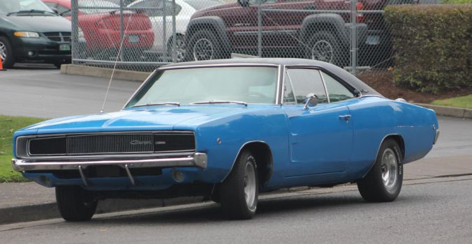 1968 Dodge Charger by finhead4ever