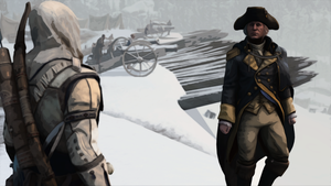 Connor Kenway and George Washington by DCGameStream