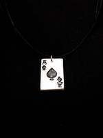 Ace of Spades necklace by CookingMaru