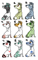 Dog Adoptables! by Tooel