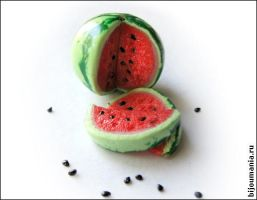 Water-melon - food by allim-lip
