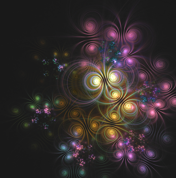 Fractal Art - 4 by SKIGZdoesART