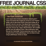 Grounded CSS by spud100