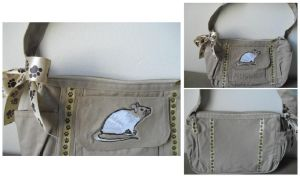 Memorial Rat Purse by SailorUsagiChan