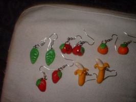 Polymer Clay Earrings by joidvivre