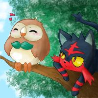 Rowlet and Litten