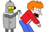 Bender Wedgies Fry by Animekid0839