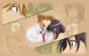 Misaki and Usui wallpaper by meredith-grey