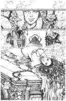 Ancient Dreams #3 Cover Pencils by Kromespawn
