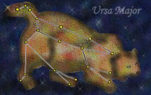 Ursa Major, The Big Dipper