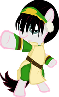 Pony request 78 - Toph by ah-darnit